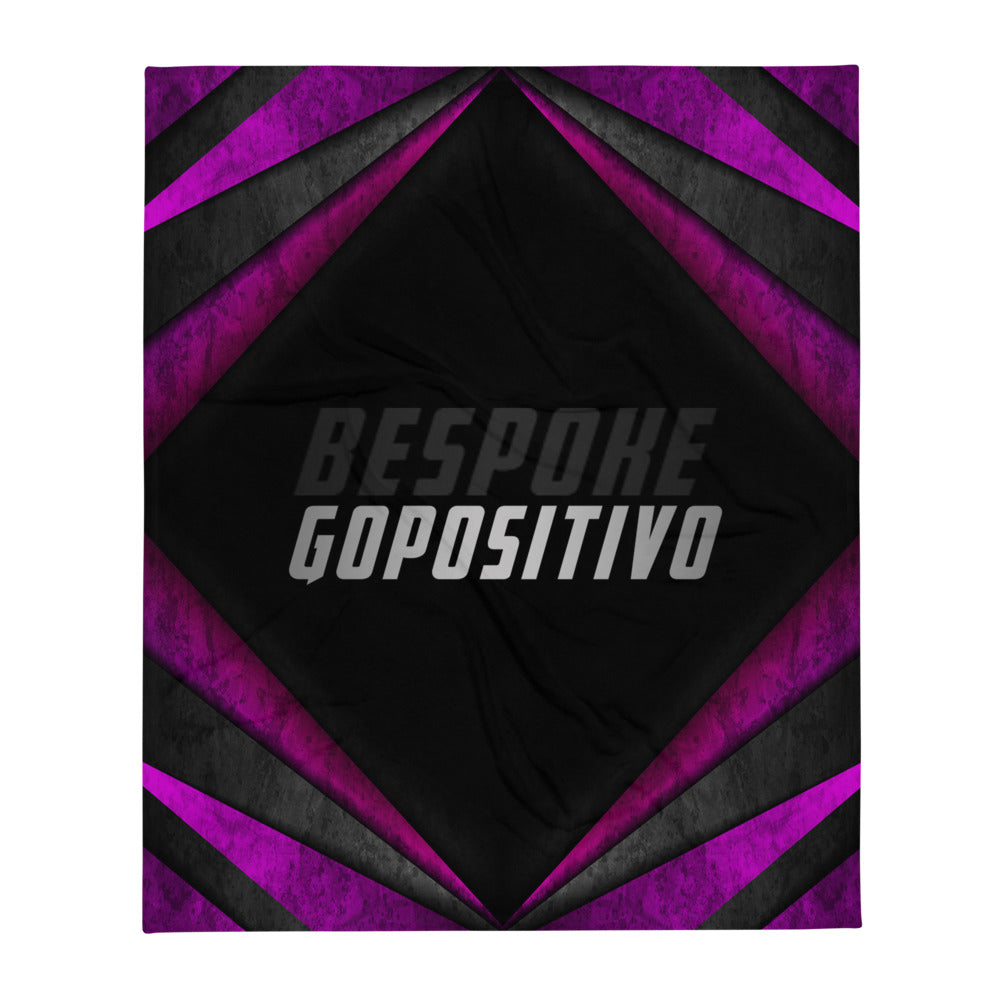 GP Bespoke Abstract Throw Blanket - GoPositivo