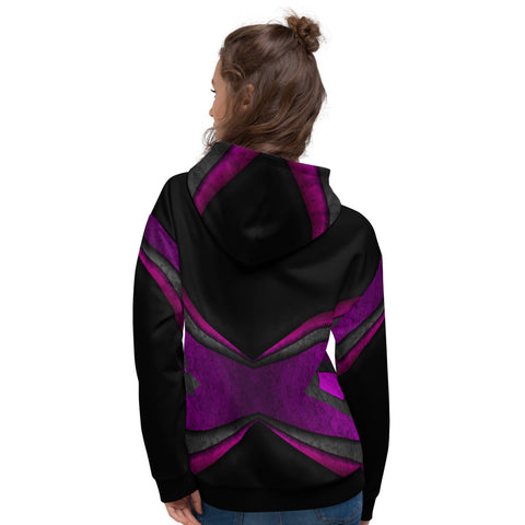GP Bespoke Abstract Unisex Hoodie - GoPositivo