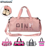 Waterproof Sequins Gym Bag For Fitness Training Yoga