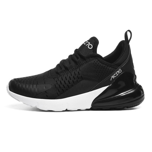 Air Sole Breathable Mesh Lace-up Outdoor Training Fitness Sport Shoes - GoPositivo