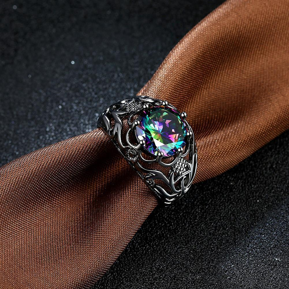 Stunning Fire Opal Ring- Free worldwide shipping - GoPositivo