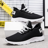 Mesh Men's Comfortable Breathable Casual Fashion Walking Sneakers - GoPositivo
