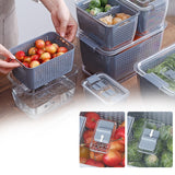 PLASTIC FRUIT STORAGE BIN