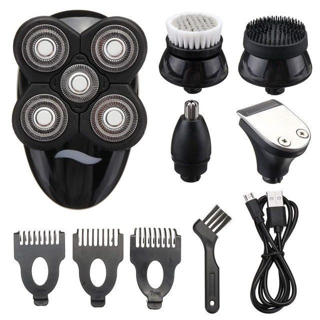 5 in 1 Bald Head Shaver - GoPositivo
