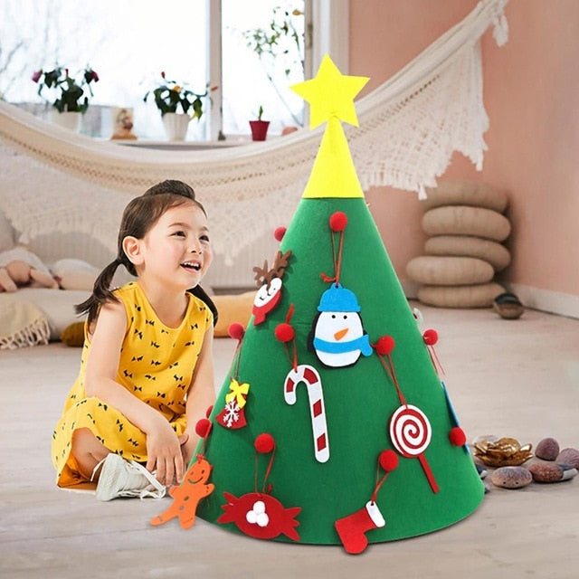 DIY Kids Christmas Tree - GoPositivo