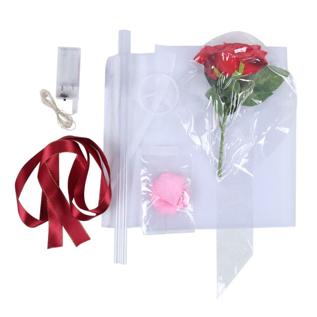 LED Rose Bouquet - GoPositivo