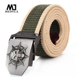 Canvas Skull Belt Unisex - GoPositivo