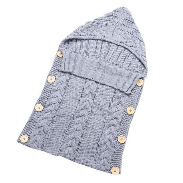 Woolen Baby Sleepsack for Infants Ages 0-12 Months - GoPositivo