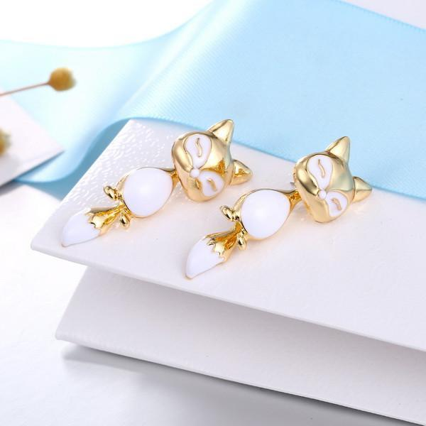 Cute Fox Earrings - GoPositivo