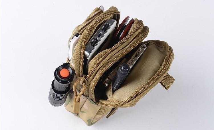 Rugged® Outdoor Camping Climbing Tactical Waist Case - GoPositivo