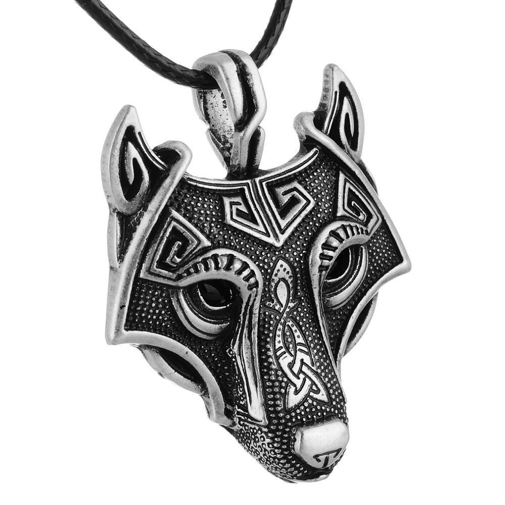 Vikings® Norse Wolf Pendant with Original Box - GoPositivo