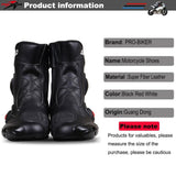 PRO-BIKER SPEED Ankle Joint Protective Gear Motorcycle Boots