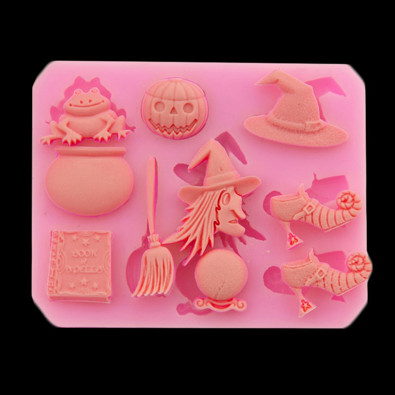 Halloween Party Silicone Mold Cake Decorating Tools Kitchen Bakeware - GoPositivo