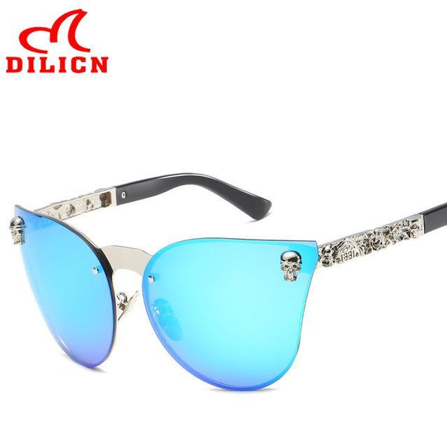 Women Retro Vintage Sunglasses Cool Design Eyewear UV400 - GoPositivo