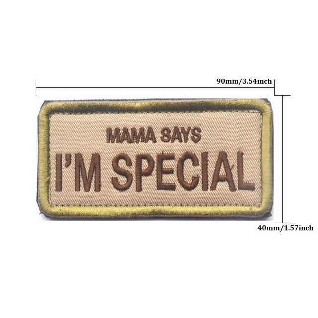 I'm Special Jacket / Backpack Patch - GoPositivo