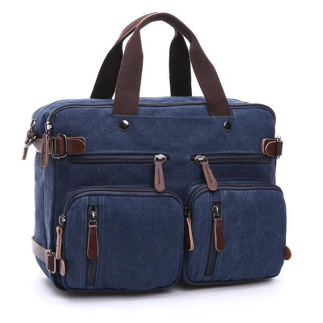 The Elitist - 3 Modes Biker Traveller Bag with Adjustable Strap - GoPositivo