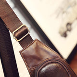 GoPositivo 100% Genuine Indian Leather Shoulder Sling Bag - GoPositivo