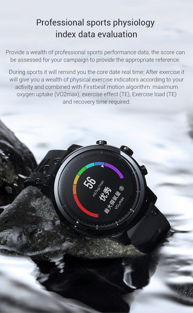 Xiaomi Huami Amazfit 2 Smart Watch - GoPositivo