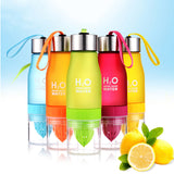 H2O Juice Fruit Infuser Drinkware Sports Shaker Bottle from GoPositivo.com