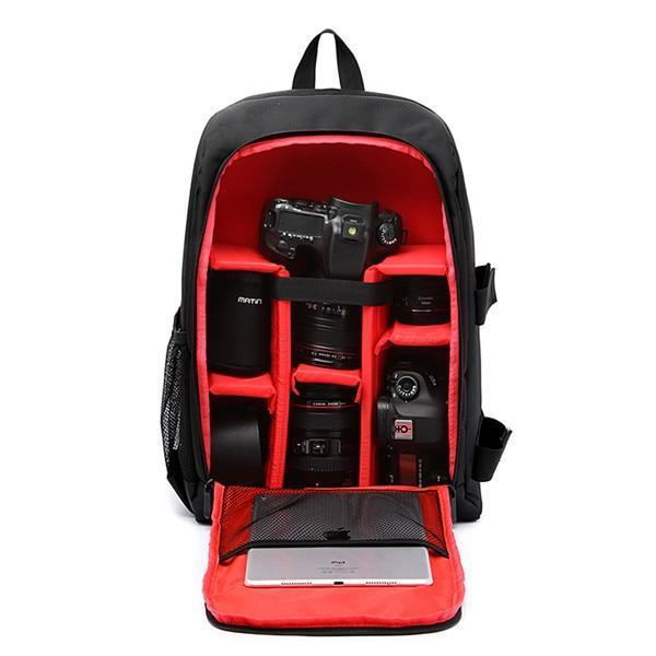 Cameo® - World's First Fully Customizable Waterproof Camera Backpack US1 - GoPositivo