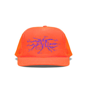 Canary Yellow x Cracks 2A [Fluorescent Orange] Cap