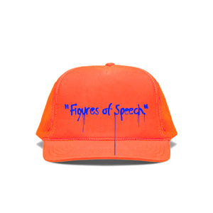 Canary Yellow x Figures of Speech 2C [Fluorescent Orange] Cap