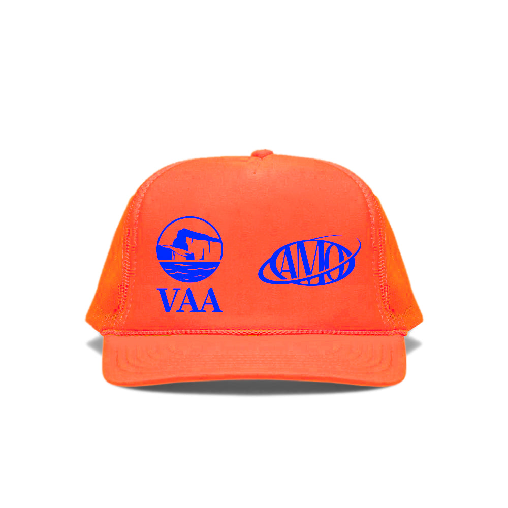 Canary Yellow x VAA + AMO 2B [Fluorescent Orange] Cap