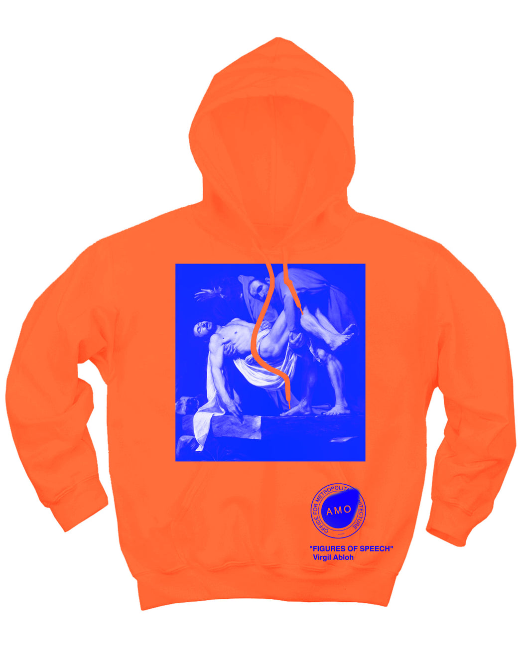 Canary Yellow x Caravaggio + PYREX 4C [Fluorescent Orange] Hoodie