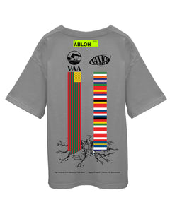 Canary Yellow x FOS Alliteration VAA + AMO Towers 3G [Grey] T-Shirt