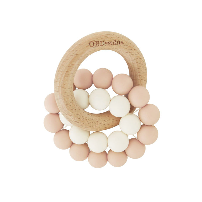 Eco Friendly Teether -  Blush Pink