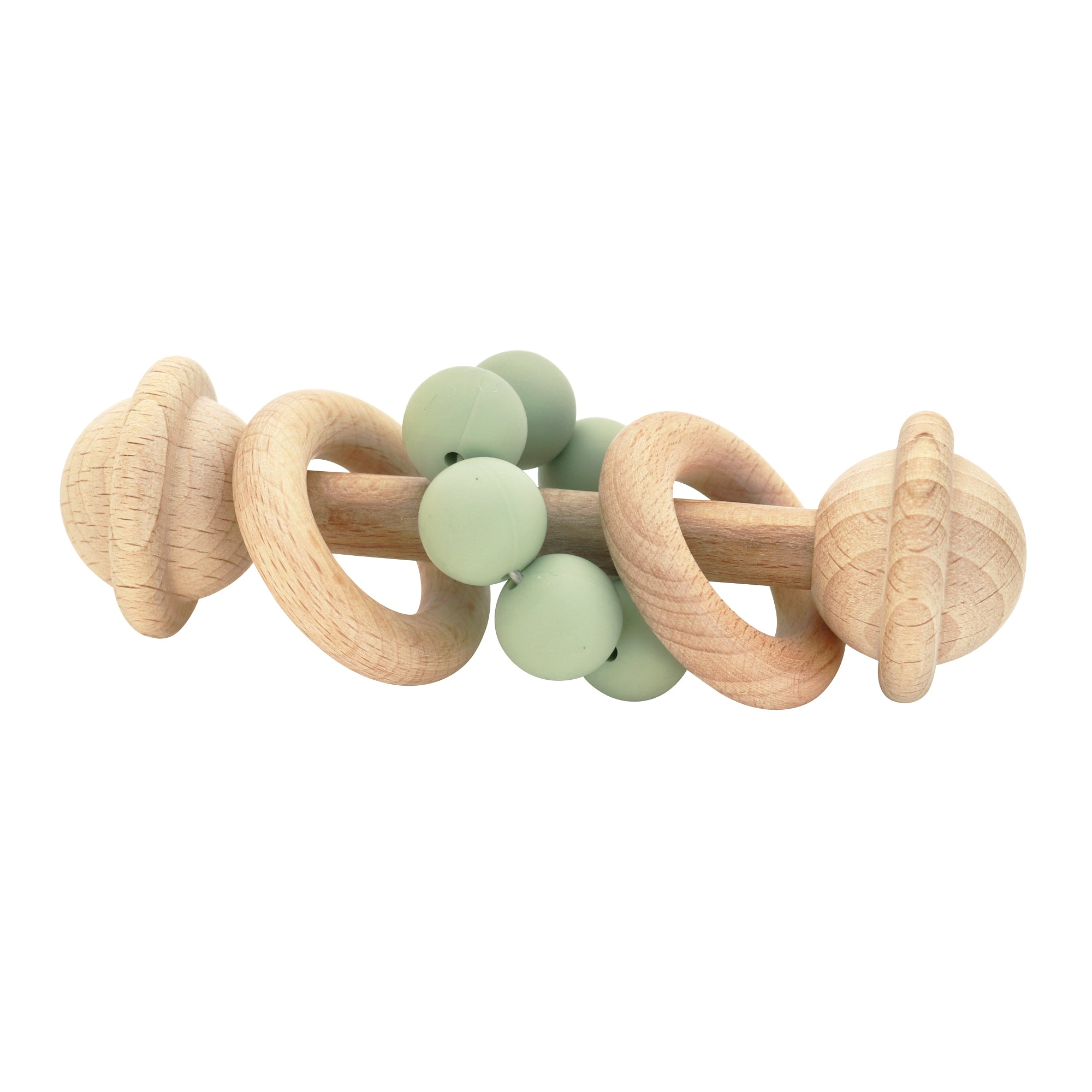 Eco Friendly Rattle -  Sage