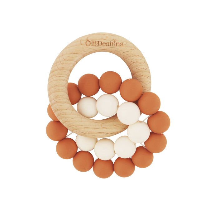 Eco Friendly Teether -  Cinnamon