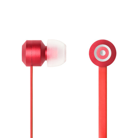 Tenqa Elevens Aluminum Earbuds-Red
