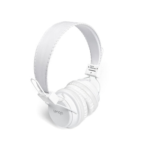 Tenqa On-Ear Wireless Bluetooth Headphones-White7