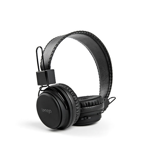 Tenqa On-Ear Wireless Bluetooth Headphones-Black1