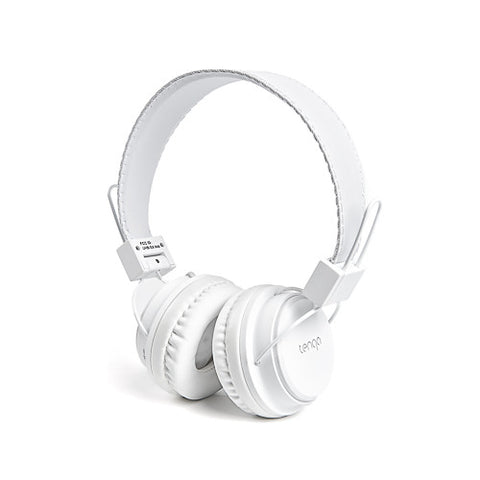 Tenqa On-Ear Wireless Bluetooth Headphones-White5