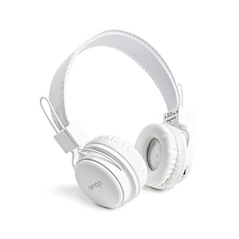 Tenqa On-Ear Wireless Bluetooth Headphones-White4