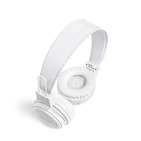 Tenqa On-Ear Wireless Bluetooth Headphones-White3