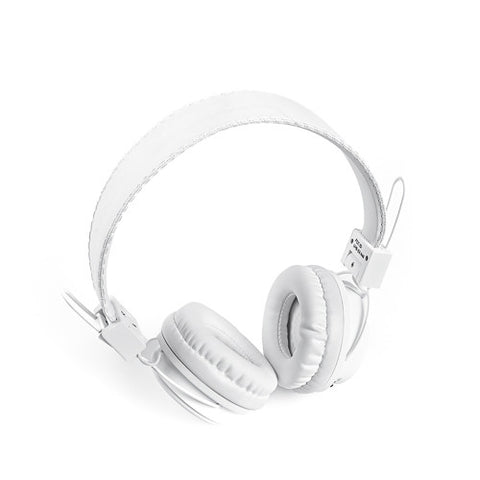 Tenqa On-Ear Wireless Bluetooth Headphones-White2
