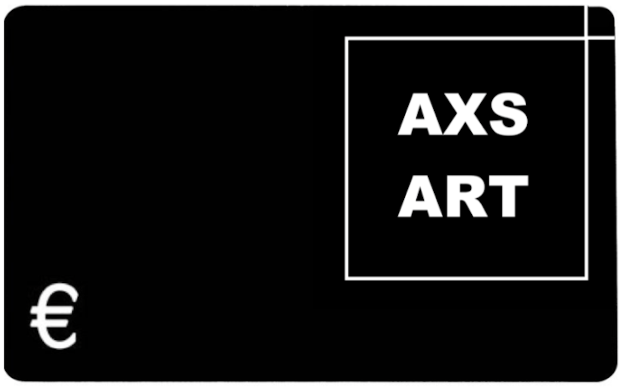 Starting Art Collector Giftcard (various prices available) - AXS ART buy affordable art by emerging artists online