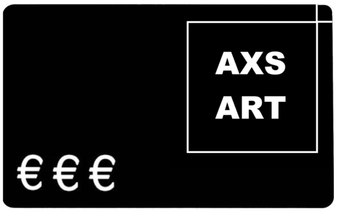 Experienced Art Collector Giftcard (various prices available) - AXS ART buy affordable art by emerging artists online