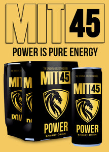 MIT45 POWER Energy Drink - 4 Pack