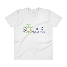 Load image into Gallery viewer, Solar Equity Group - Men's V-Neck T-Shirt