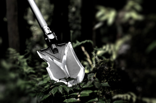 Annihilate F-A2 Tactical Shovel - Folding, Multi-Tool Survival Shovel for Camping Hiking Fishing Offroading or Emergency - by Zune Lotoo - thesmartcamping.com