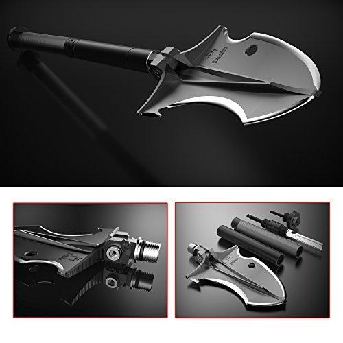 Smilodon Superior Tactical Shovel for Offroading 4WD Camping Hiking Exploring or Emergency - by Zune Lotoo - thesmartcamping.com
