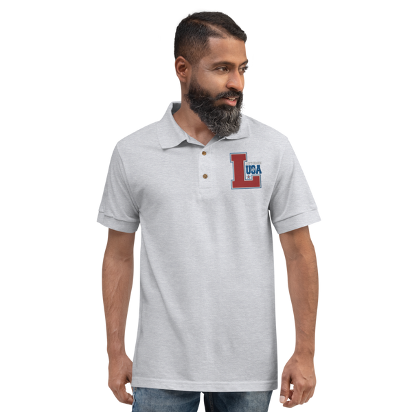 Letterman of the USA - Embroidered Polo Shirt