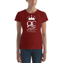 Load image into Gallery viewer, Queen Co Apparel - Women's Short Sleeve Tee Shirt