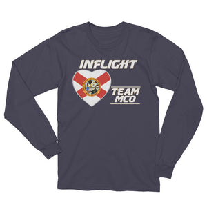 SWA - InFlight – Team MCO Long Sleeve Men's Tee Shirt