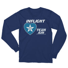 Load image into Gallery viewer, SWA - InFlight – Team HOU Long Sleeve Men's Tee Shirt