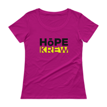 Load image into Gallery viewer, Hope Krew Ladies' Scoopneck Tee Shirt